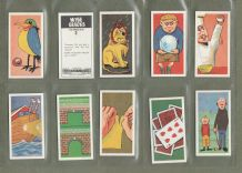 TRADE cards Wise Cracks  jokes, magic tricks  puzzles,  limericks